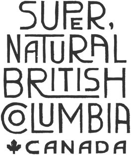 Destination BC logo - Super, Natural British Columbia Canada